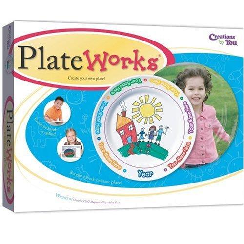 Plate Works Kids Art Plate Craft -