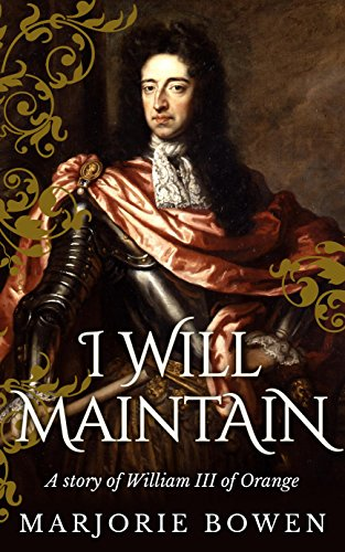 book cover of I Will Maintain
