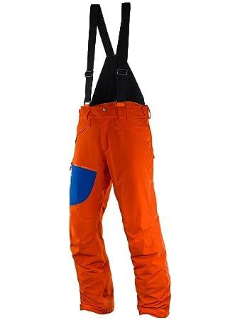 Salomon Chill Out Bib M Ski Hose für Herren, Farbe Gold