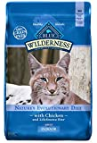 Blue Buffalo Wilderness High Protein Grain Free, Natural Adult Indoor Dry Cat Food, Chicken 11-lb Larger Image