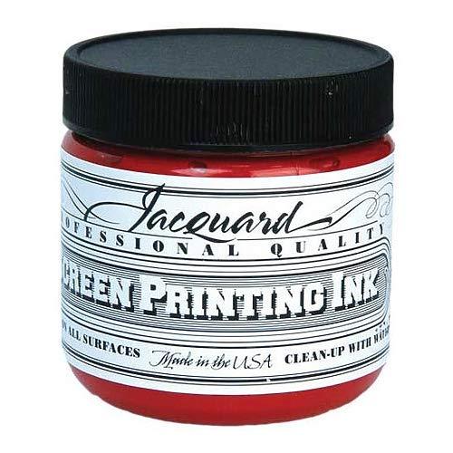 Jacquard JAC-JSI1101 Screen Printing Ink 4 oz Yellow by Jacquard (Image #1)