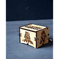 Musical Wooden Box Star Wars Gift Wood Anniversary Gift for Husband May the force be with you Music Box Main Theme Gift for Friend Dad Boyfriend