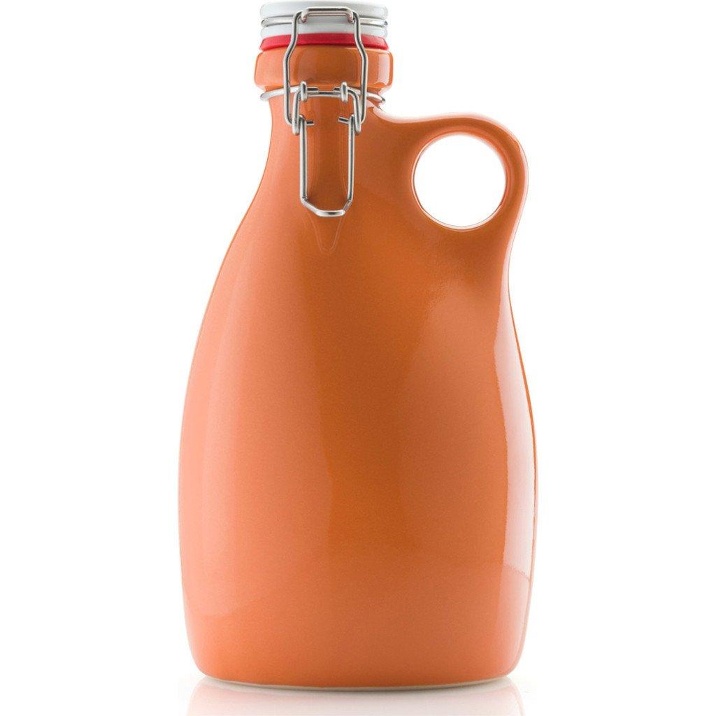 Orange Vessel Co. Stoneware Growler 64 oz. | Orange
