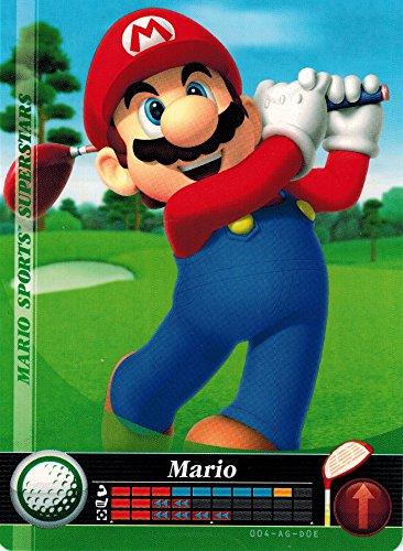 004 Golf - Nintendo Mario Sports SuperStars Amiibo Card Mario Golf 004/090 USA Version