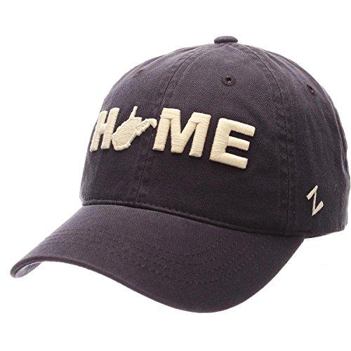 主に例外下着ZephyrメンズWest Virginiaホーム奨学金Washed Adjustable Hat Navy