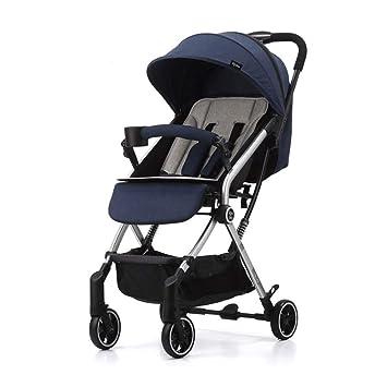 Moolo Cochecitos Carro de Bebe Aleación de Aluminio Ligero Plegable Ultraligero Los niños pequeños Niño Coche