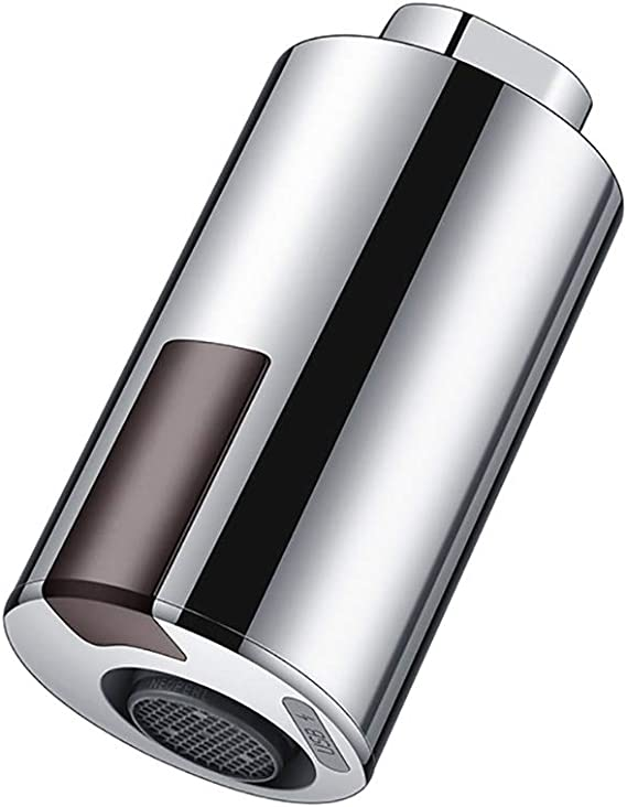 ZCJB Adaptateur de robinet sans contact Smart Sensor Robinet pour cuisine salle de bain Capteur infrarouge automatique avec protection anti-trop-plein Facile /à installer