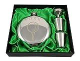 Golf Flask Gift Set