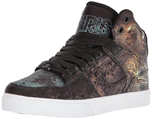 Osiris Mens Nyc 83 Vlc Skateboard Sko Huit / Skull / Armé