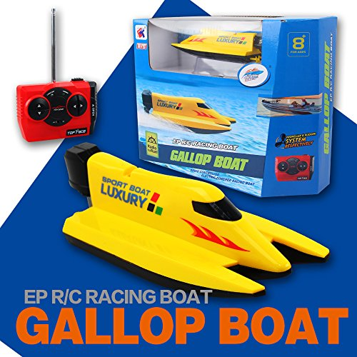 Litzpy's High Speed Gallop RC Boat Remote Control Electric Boat Yellow review
