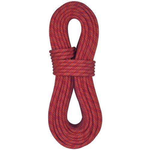 BlueWater Ropes 11mm Enduro Standard Dynamic Single Rope (Red Mix, 60M) by BlueWater Ropes (11mm Dynamic Rope)
