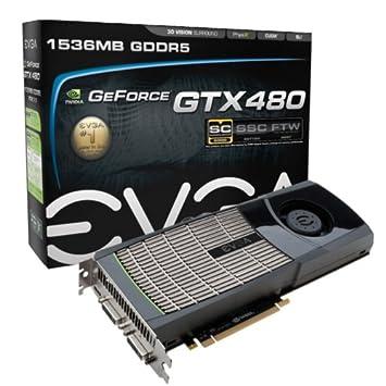 VGA EVGA E-GeForce GTX480 SC Tarjeta gráfica (PCI-e, 1,5 GB ...