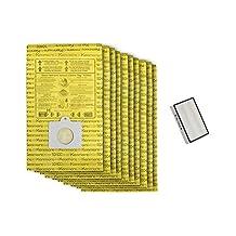Kenmore 50403 Bags + 40320 HEPA Filter, Bundle Pack. Genuine Kenmore Canister Vacuum Bags & Filter. Package of 10 Micro-Lined Bags + 1 HEPA Filter