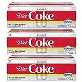 Diet Coke with Splenda Fridge Pack Bundle, 12 fl