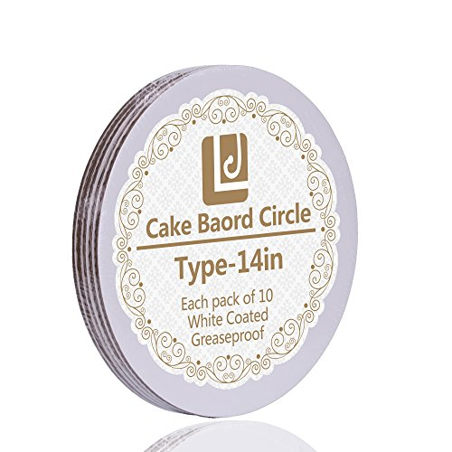 14-Inch Cake Circle, 10-Pack (14 Inch Round Cake Board)
