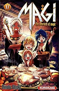 Magi - The labyrinth of magic, tome 17 par Shinobu Ohtaka