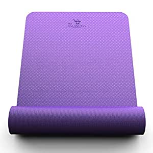 TPE Yoga Mat Wide Thick Eco Friendly The Balance Co.