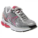 Aetrex Women's RX Runner Grey/Cranberry 5.5 M US