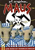 Front cover for the book Maus II: A Survivor's Tale: And Here My Troubles Began by Art Spiegelman