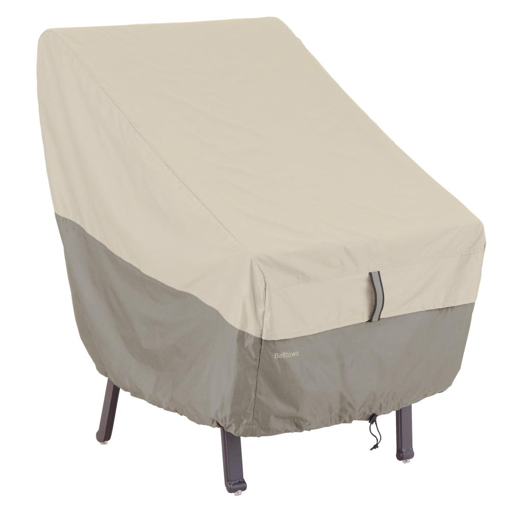 Patio Chair Covers: Amazon.com : Classic Accessories Belltown Outdoor Highback