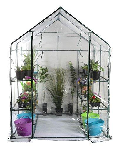 "76.75"" Outdoor Spring Bloom Heavy Duty Walk-in Greenhouse"