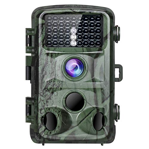 TOGUARD Trail Camera 14MP 1080P Game Cameras with Night Vision Motion Activated Waterproof Wildlife Hunting Cam 120° Detection with 0.3s Trigger Speed 2.4″ LCD IR LEDs