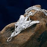 Eove Sterling Silver Arwen Evenstar Pendant