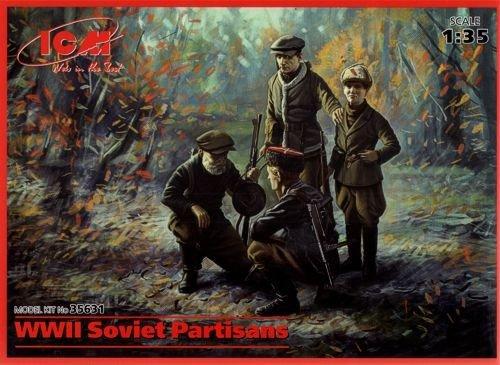 ICM Models WWII Soviet Partisans Building Kit (Partisans Model)