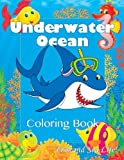 Underwater Ocean Coloring Book: Fish and Sea Life! (Super Fun Coloring Books For Kids)