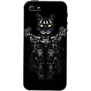 DailyObjects RoboWarrior Cat Case For iPhone 5/5S
