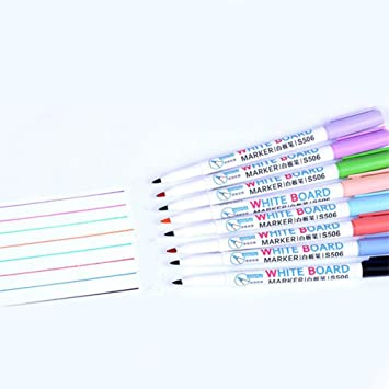 8 Juegos de colores para borrar pizarras,estuches de tinta ...