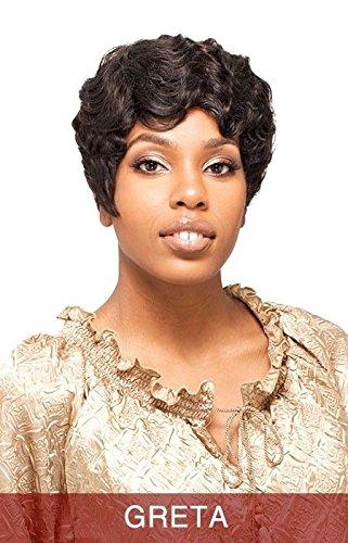 Hair Synthetic Sepia Wig (Vanessa Synthetic Hair Wig - Greta-SEPIA)
