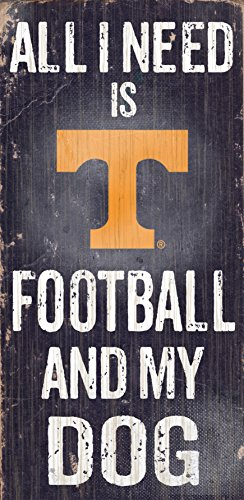 Fan Creations C0640 University Of Tennessee Football And My Dog Sign