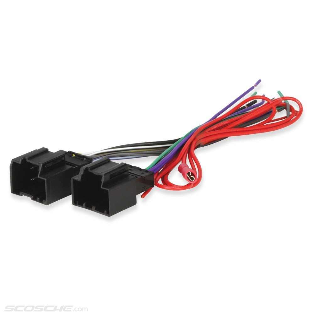 Scosche Gm40b 2006 Up General Motors Harness With Wiring For Ford Accessory Lead Car Electronics