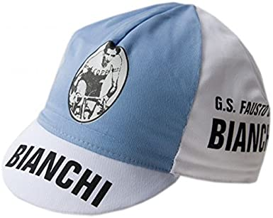 Coppi Cycling Cap Vintage style Bianchi G.S