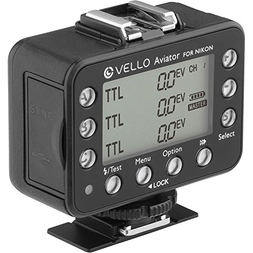 Vello FreeWave Aviator Transceiver for Nikon i-TTL Flashes by Vello