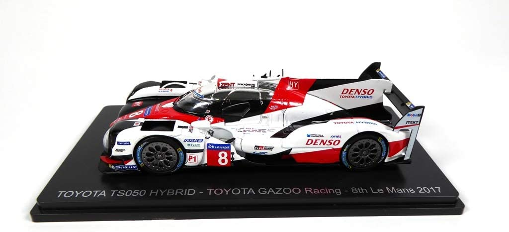 01 8th Le Mans 2017 Toyota GAZOO Racing Buemi-Davidson-Nakajima OPO 10 Toyota TS050 Hybrid #8 Spark 1//43 pour Hachette Japon