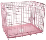 """Precision Pet """"ProValu,"""" Double Door Dog Crate Pink Review"""