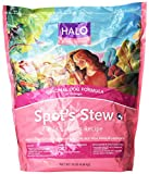 Halo Spot's Stew Natural Dry Dog Food, Adult Dog, Wild Salmon Recipe, 10-Pound Bag