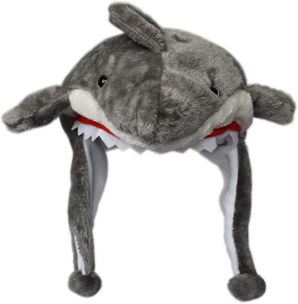 RUOYUCL Kids Girls&Boys Funny Soft Plush Animal Hats Children Cap Winter