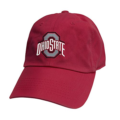 Top of the World Ohio State Buckeyes Men's Hat Icon, Red, Adjustable