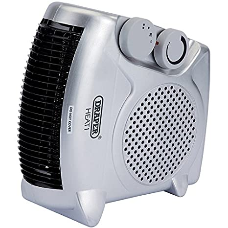 Draper Tools 07213 Fan Heater, 2 Kilowatt 230 V Draper Tools Limited