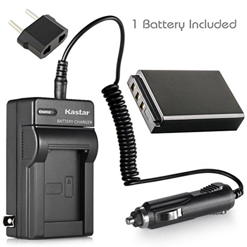 Kastar 1-Pack Battery and Charger for Kodak EasyShare DX6490 DX7440 Zoom DX7590 Zoom DX7630 DX7790, EasyShare P712 P850 P880, EasyShare Z730 Zoom Z760 Zoom Z7590 Zoom Digital Camera (Dx7440 Digital Camera Battery)
