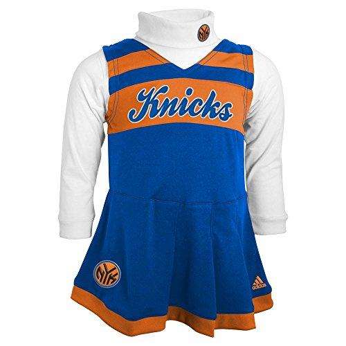 Outerstuff New York Knicks Cheerleader Dress, 18 Months]()