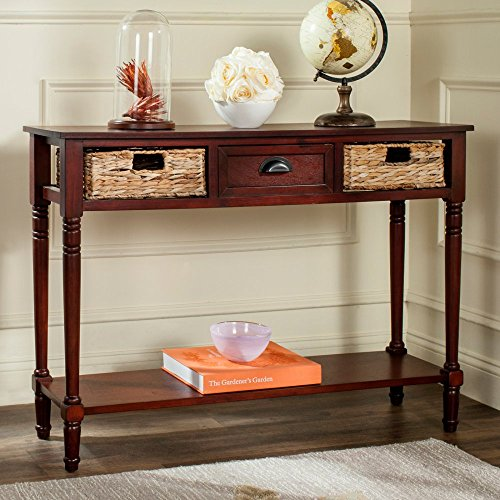 Safavieh American Homes Collection Christa Cherry Console Table With Storage -
