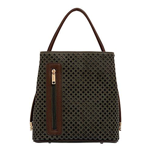 samoe-style-chelsea-gray-laser-cut-classic-convertible-handbag-with-tan-trim