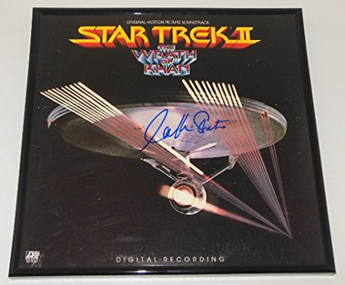 star-trek-ii-the-wrath-of-khan-william-shatner-signed-autographed-original-motion-picture-soundtrack