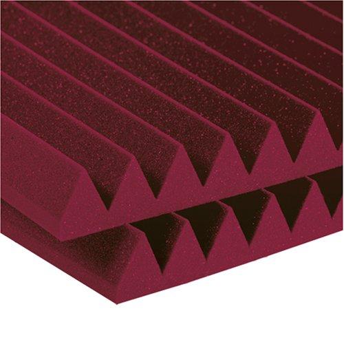 2 Studiofoam Wedge Panels (Auralex Acoustics Studiofoam Wedges Acoustic Absorption Foam, 2
