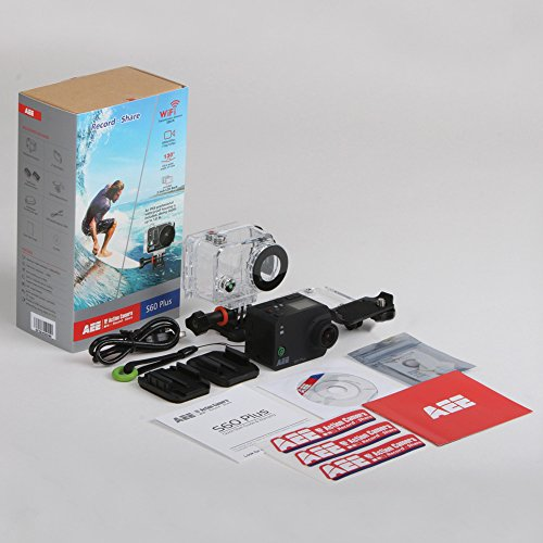 AEE S60 1080P 60FPS LCD Display Time Action Camera with Case