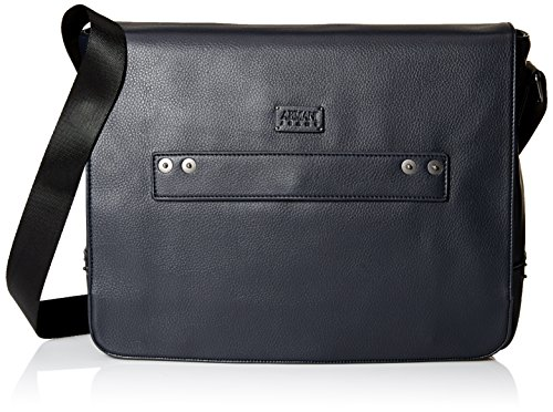 Armani Jeans Men's Deerskin Look Embossed Messenger Bag by ARMANI JEANS